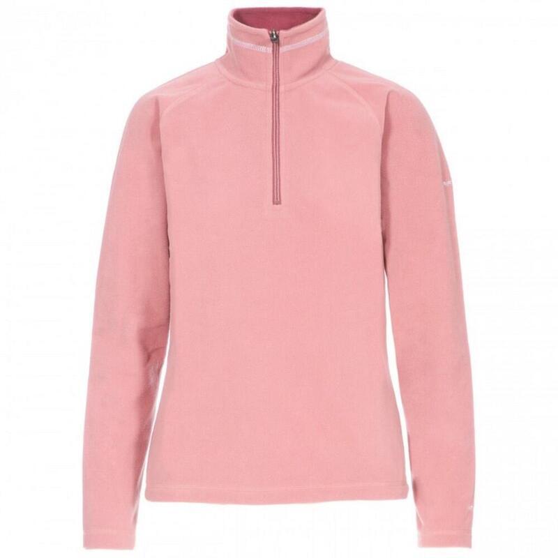 Dames Skylar Fleece Top (Licht roze)