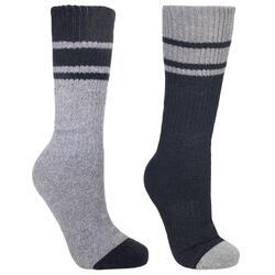 Heren Sokken Hitched Tweekleurige, AntiBlaar voor Bergschoenen (2 Paar)