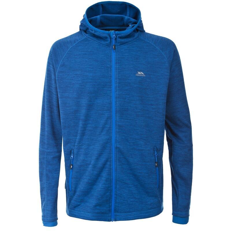 Heren Northwood Fleece Vest met Capuchon (Blauw)