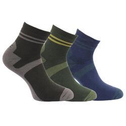Grote Buitenshuis Heren Actieve Lifestyle Walking Socks (Pakket van 3)