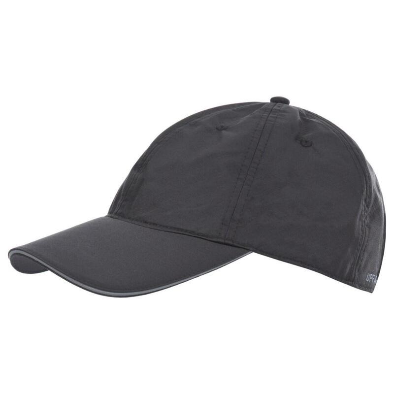 Heren Cosgrove Quick Dry Baseball Cap (Zwart)