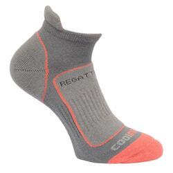 Grote buitendames/dames Trailloopbaan sokken (Staal)