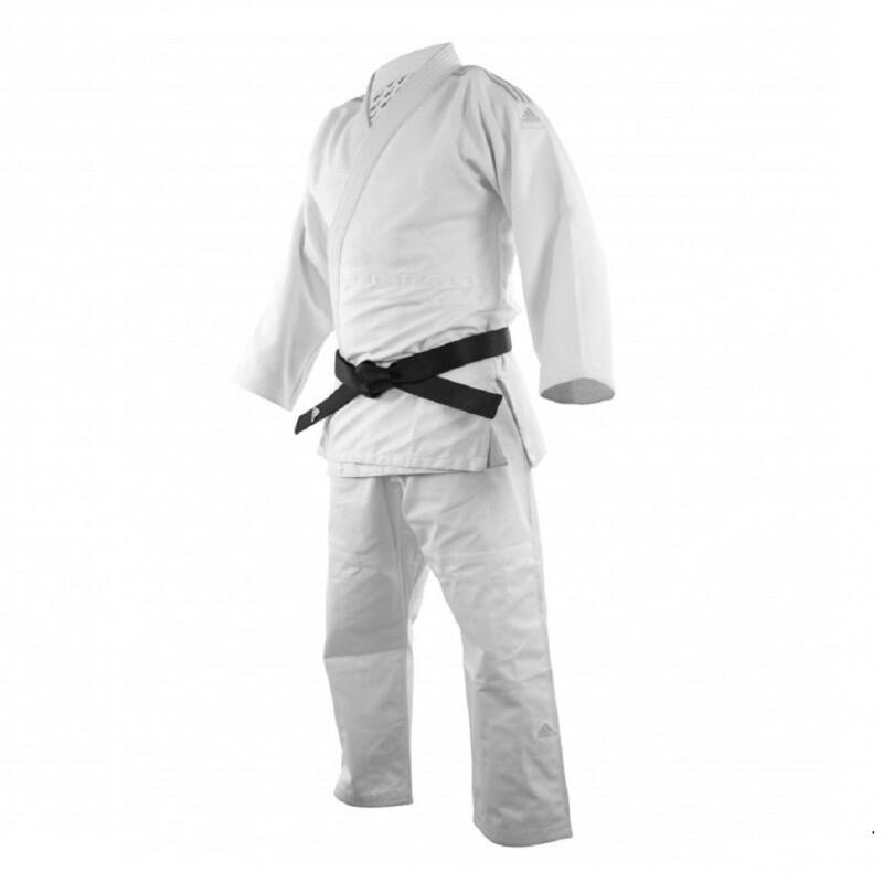 Kimono judo J690 Quest à bandes bleues