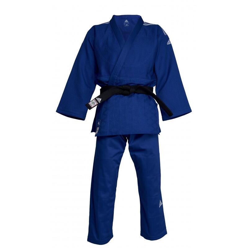 Kimono de judo adidas bleu Champion II
