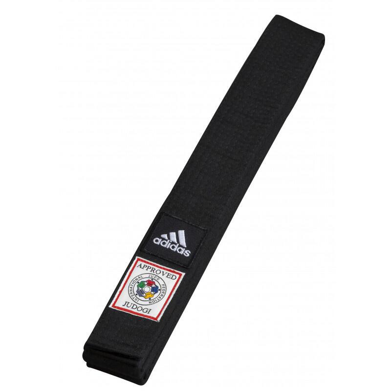 Ceinture noire Judo Adidas IJF