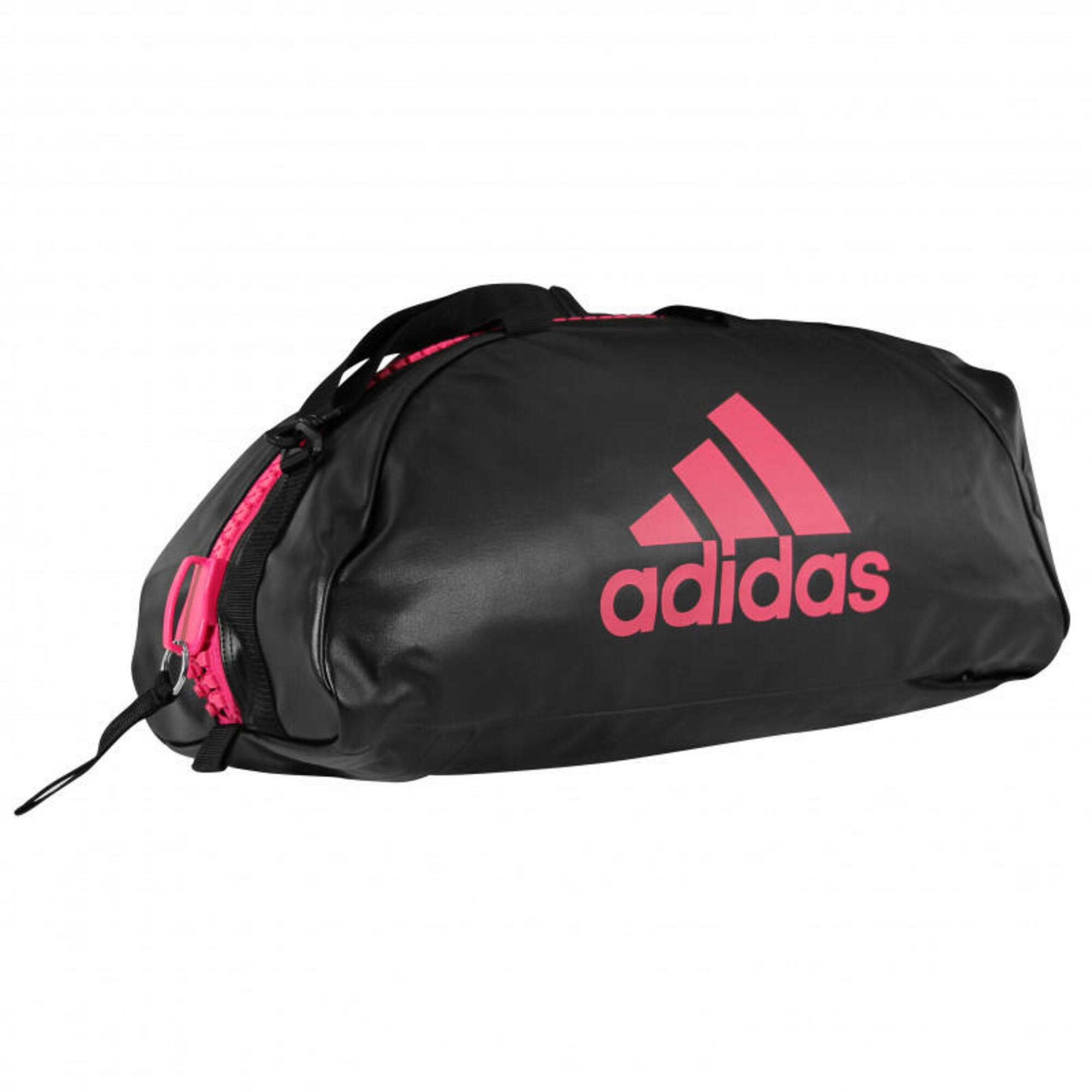 Sac de sport Adidas 2 en 1 logo Rose