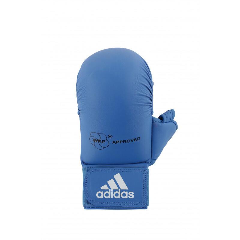 Mitaines / Gants Karate WKF avec pouce Rouge/Bleu ADIDAS