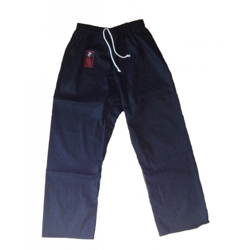 Pantalon karaté Noir Furacao