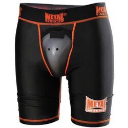 Boxer mi-cuisse avec coquille intégrée METAL BOXE