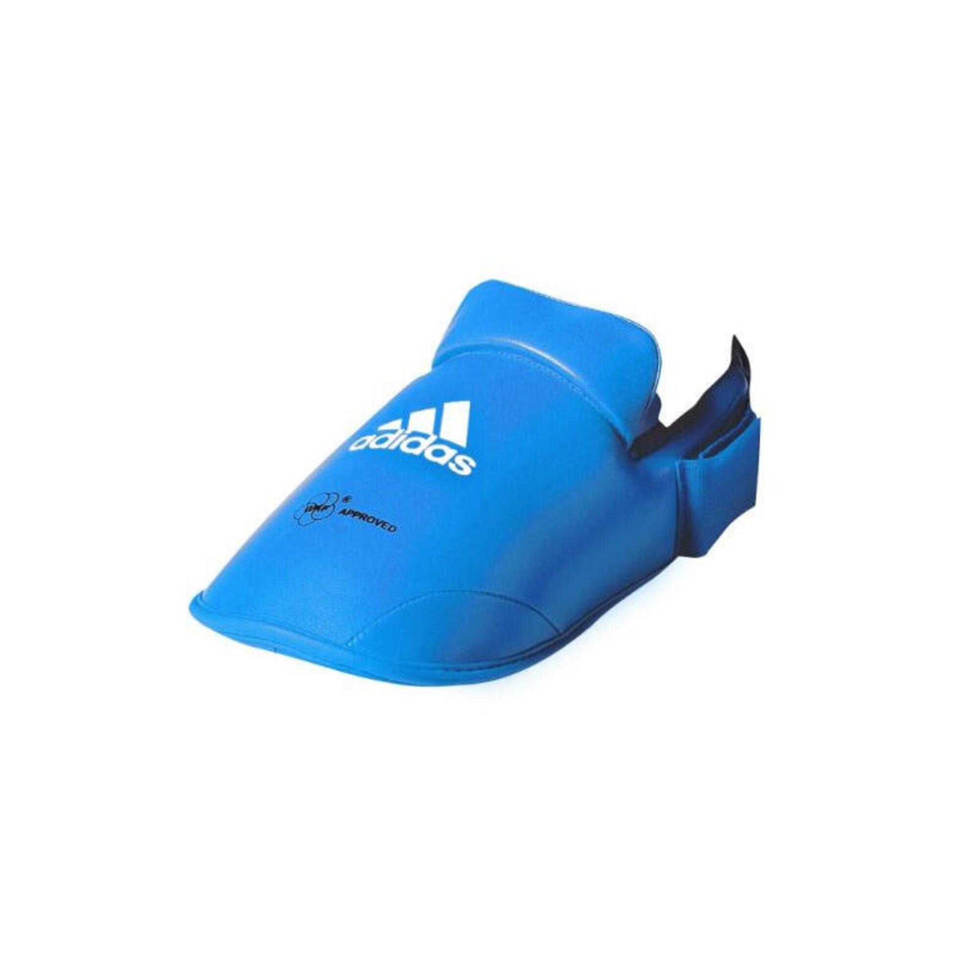 Protège pied karaté ADIDAS WKF rouge ou bleu
