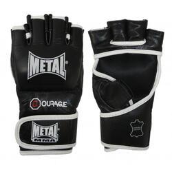 MMA lederen handschoenen metal boxe