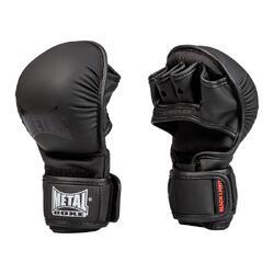 MMA handschoenen training zwart métal boxe