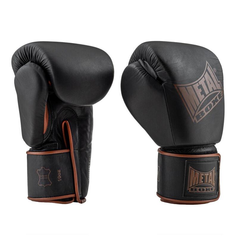 Gants de boxe en  cuir Apollon Métal Boxe