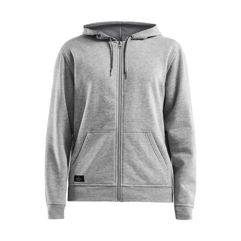 Craft community zip-up hoodie