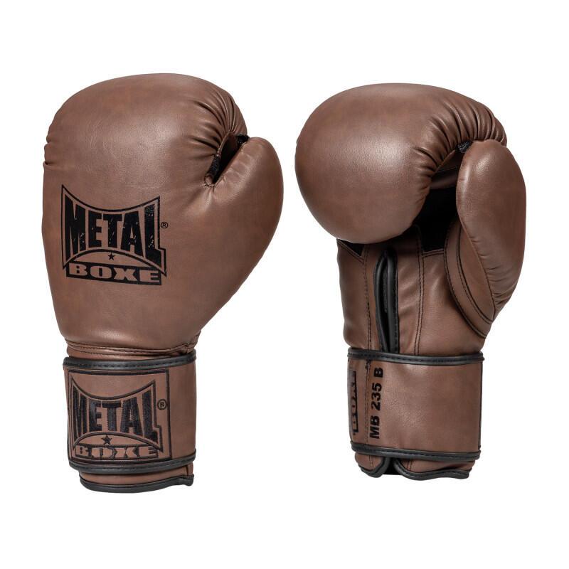 Gants de boxe entrainement marron
