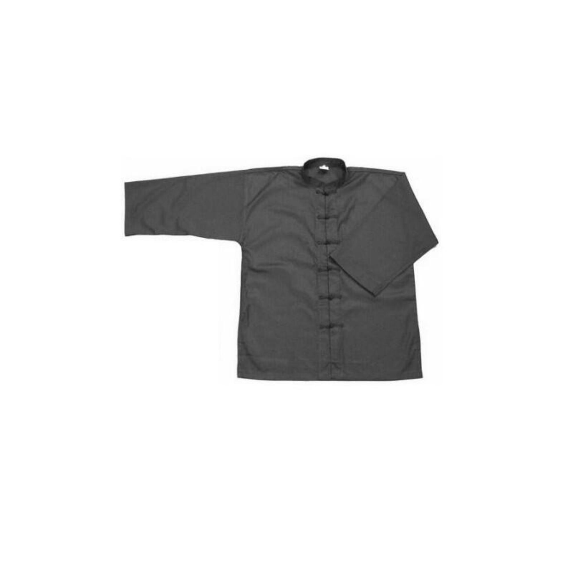 veste de kung fu noire furacao