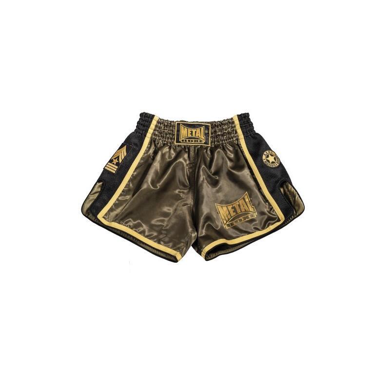 Short Thaï kick military métal boxe