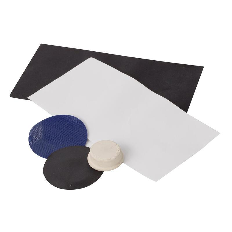Kit de réparation de camping (Noir / blanc)