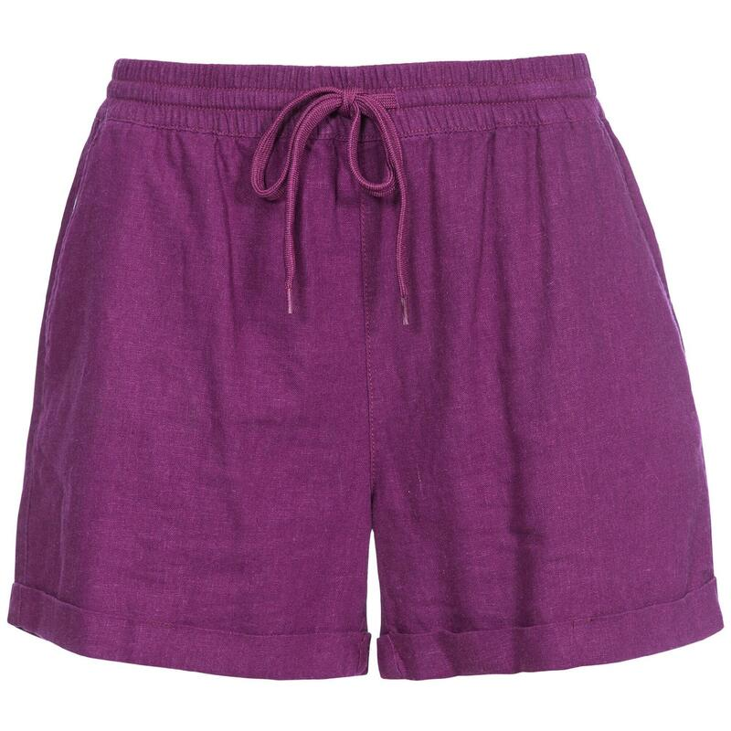 Dames/dames Belotti Shorts (Druivenwijn)