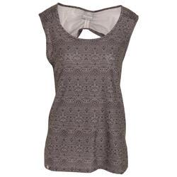 Vrouwen/dames Ono Adventure Sleeveless Vest Top Met Ronde Hals (Kruidenafdruk)