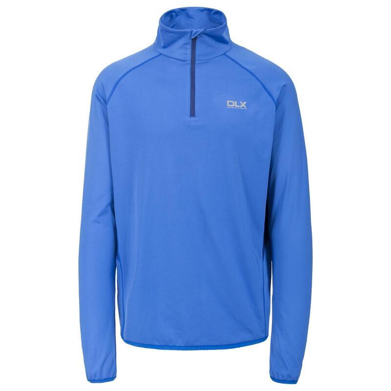 Heren Brennen Lange Mouwen Sportshirt (Blauw)