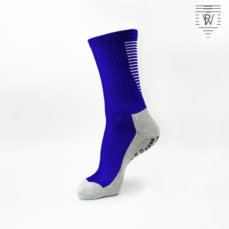 PlayWear Chaussettes Antidérapantes Bleu