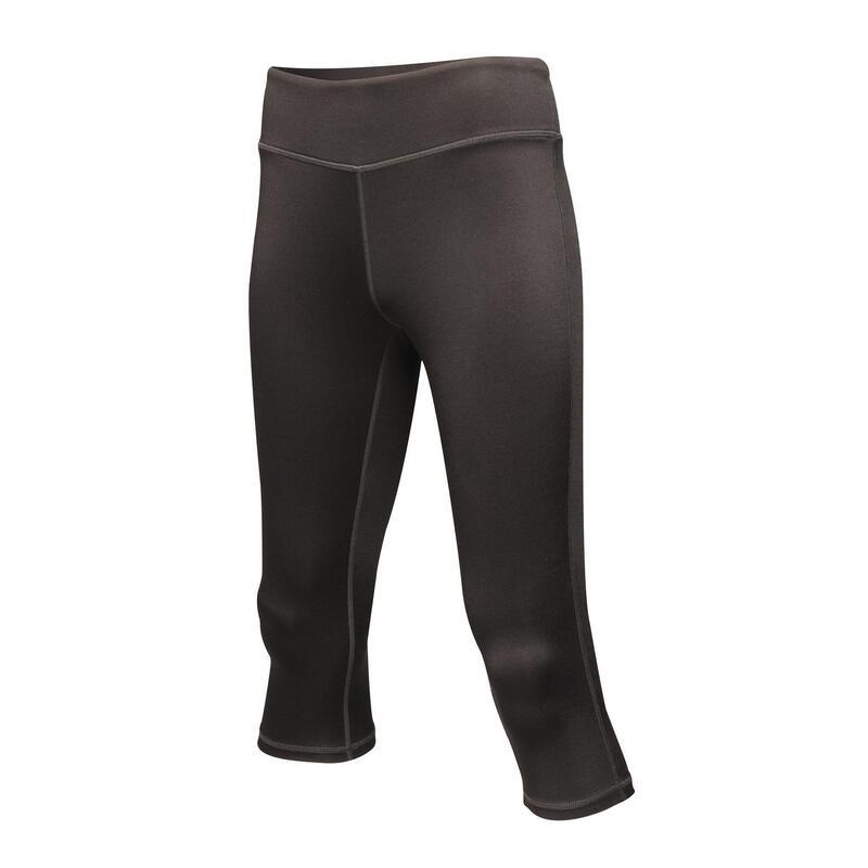 Vrouwen/dames Pincha 3/4 Leggings (Zwart)