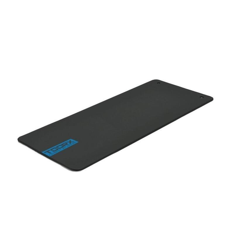 Toorx Fitnessmat Studio met Ophangogen - 100 x 60 x 1 cm - Zwart