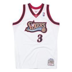 Maillot Authentique Philadelphia 76ers Allen Iverson 1997-1998