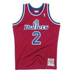Maillot Authentique Washington Bullets Chris Webber 1994-95