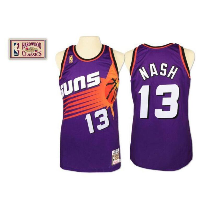 Maillot authentique Phoenix Suns Steve Nash #13 1996/1997