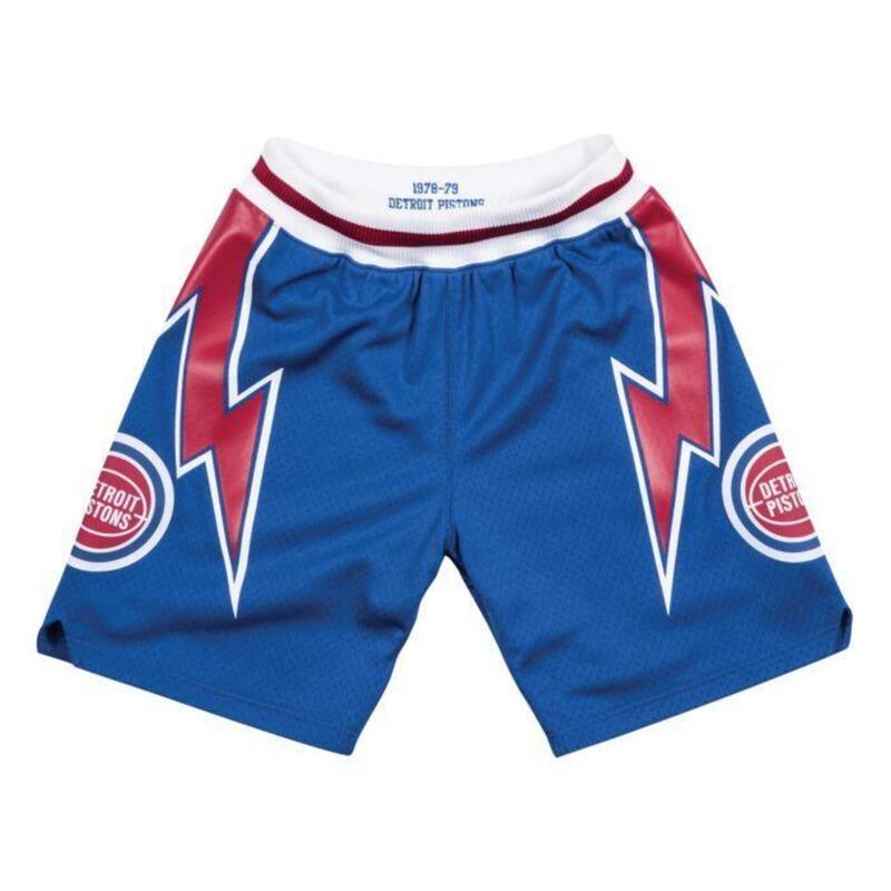 Authentieke Detroit Pistons Shorts 1978-1979