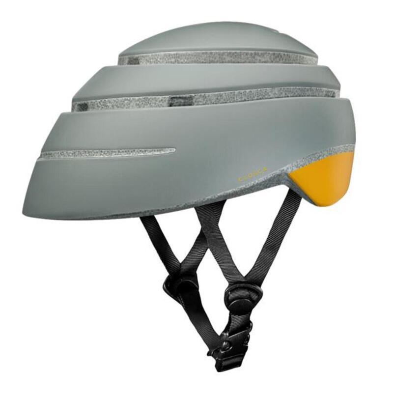 Casco de Bicicleta Plegable (Helmet Loop, Fossil / MOSTAZA)