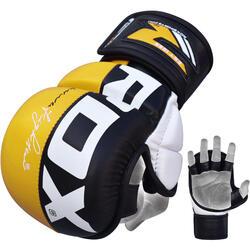 RDX Sports Sparringhandschoenen REX Geel T6 - Maat: XL
