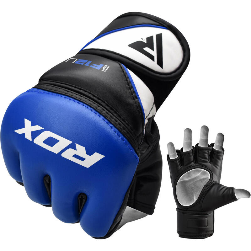 RDX Grappling Gloves Model GGRF-12 - Blauw XL