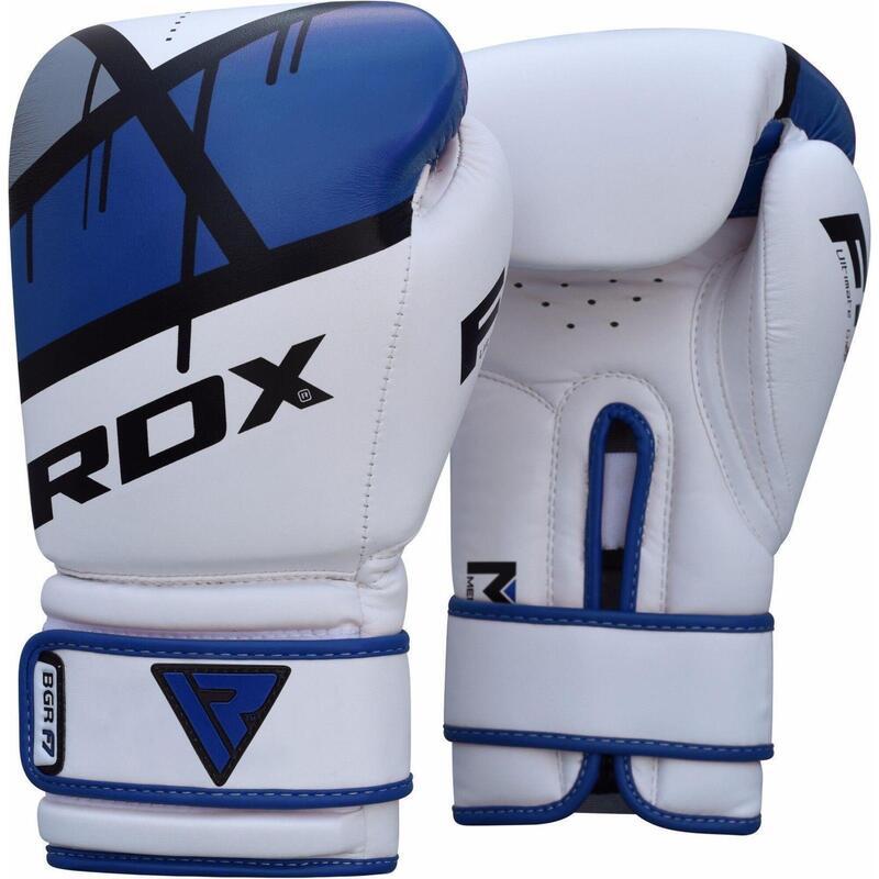RDX Gants de boxe BGR-F7 - Bleu 14oz