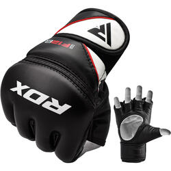 RDX Grappling Gloves Model GGRF-12 - Zwart S
