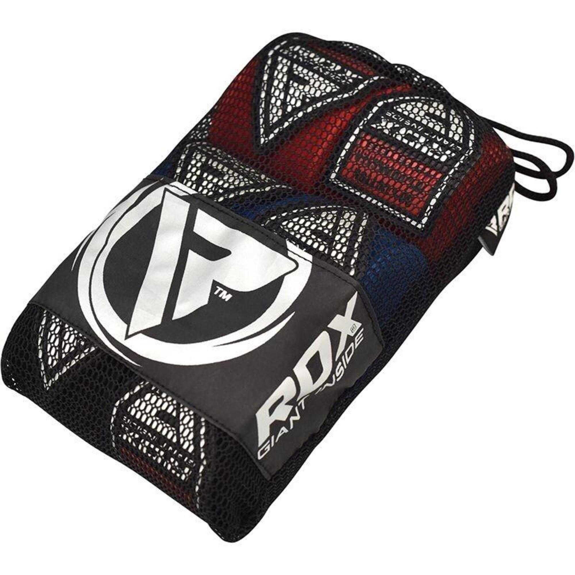 RDX Sports HW Professionele boksbandages - Set Zwart, Rood en Blauw