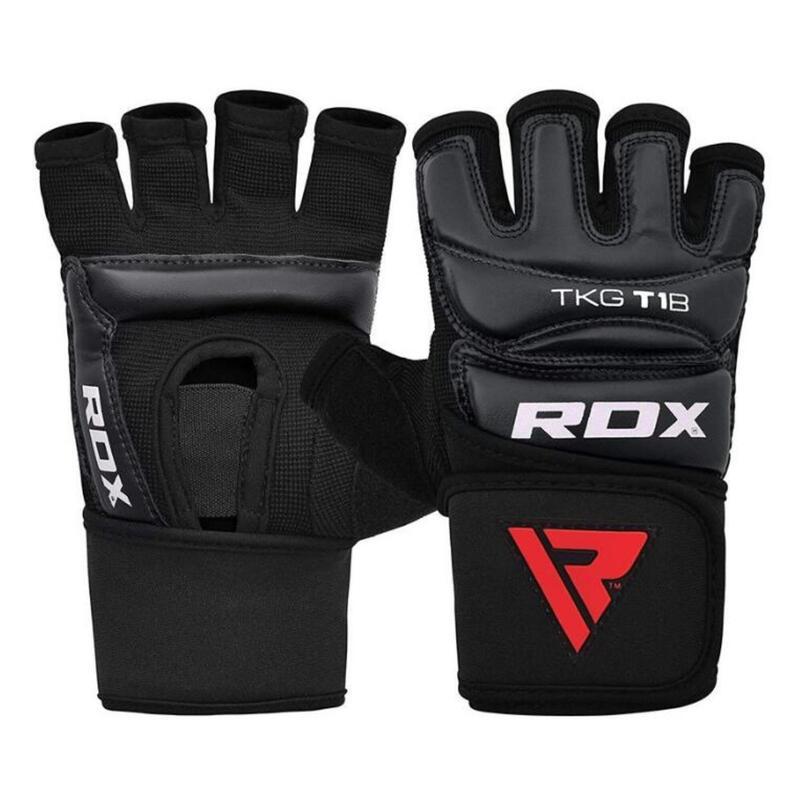 RDX T1 Taekwondo Gloves Zwart TGR-T1B - Maat: L