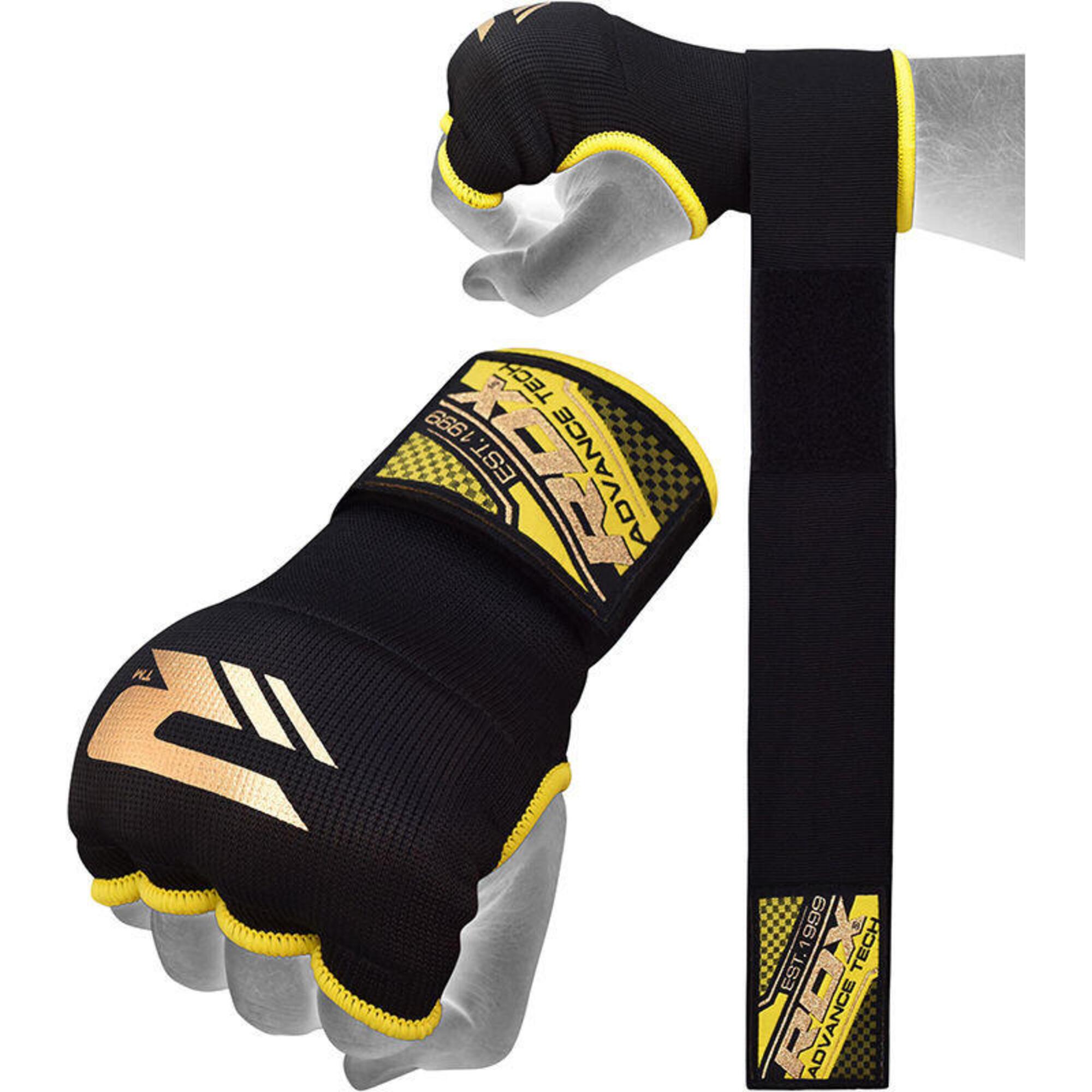 Hosiery Inner Strap - Binnenhandschoenen met polsband - Blauw -  M