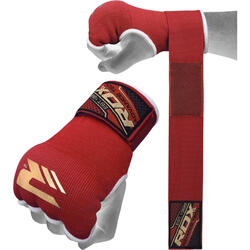 RDX Hosiery Inner Strap - Binnenhandschoenen met polsband - Rood -  XL
