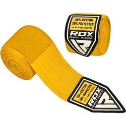 Sports HW Bandages de boxe professionnelle - Jaune