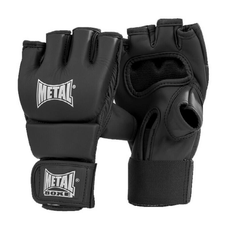 Mitaines MMA krav maga Mat noir METAL BOXE
