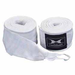 Hammer Bandages de boxe - par Paire - 4,5 mètre - blanc