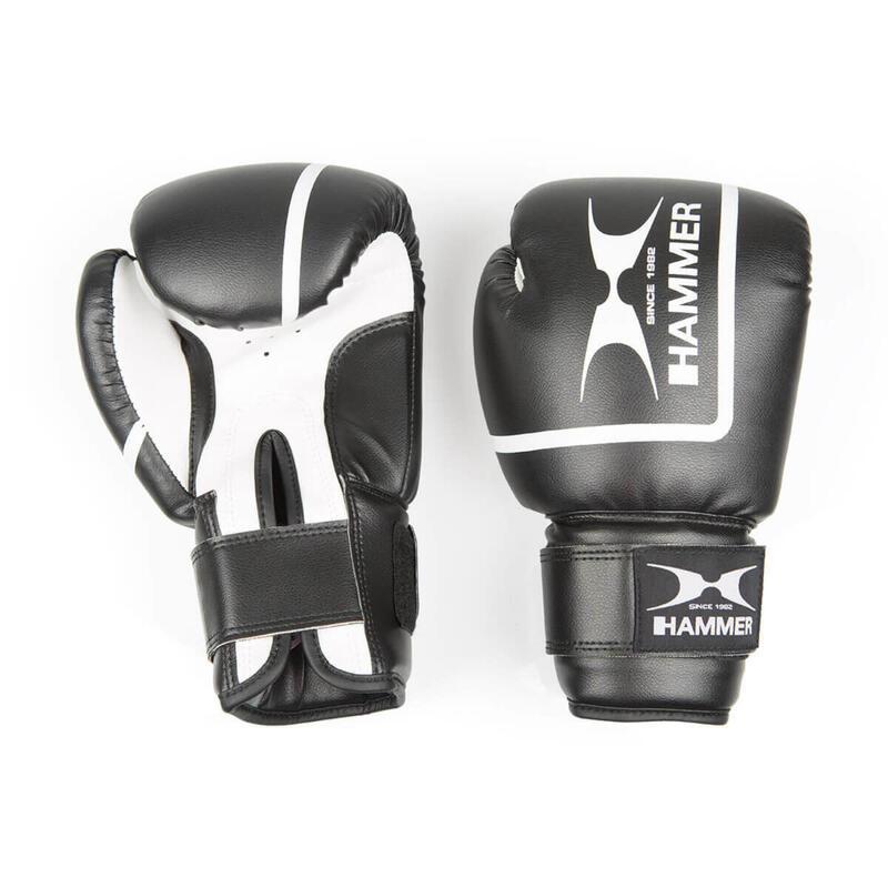 Hammer gants de boxe Fit II - imitation cuir - 12 oz