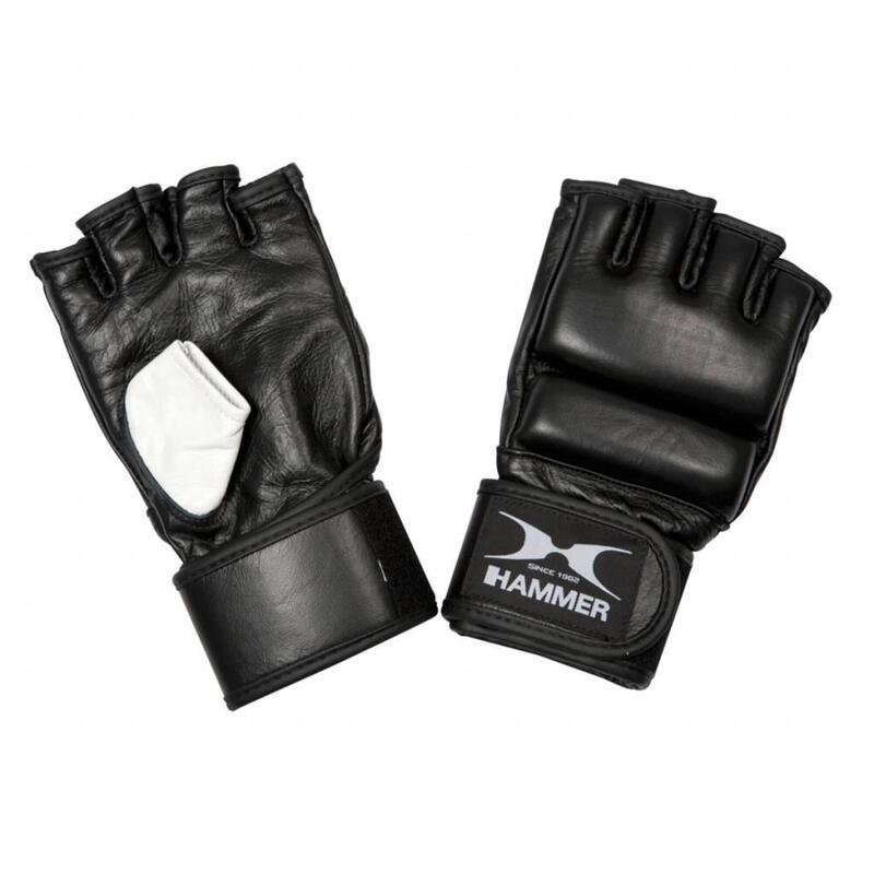 Hammer MMA Gloves gants de boxe - Unisex - noir - concours - S-M
