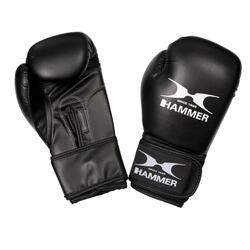 Hammer Boxing Kinderbokshandschoenen Blitz - PU - Zwart - 6 OZ
