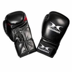 Hammer Boxing gants de boxe X-SHOCK - PU - noir/rouge - 8 OZ