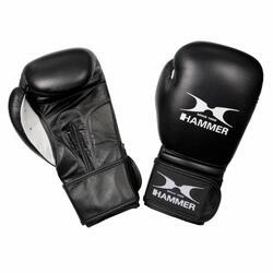 Hammer Boxing gants de boxe PREMIUM FIGHT - cuir - noir - 12 OZ