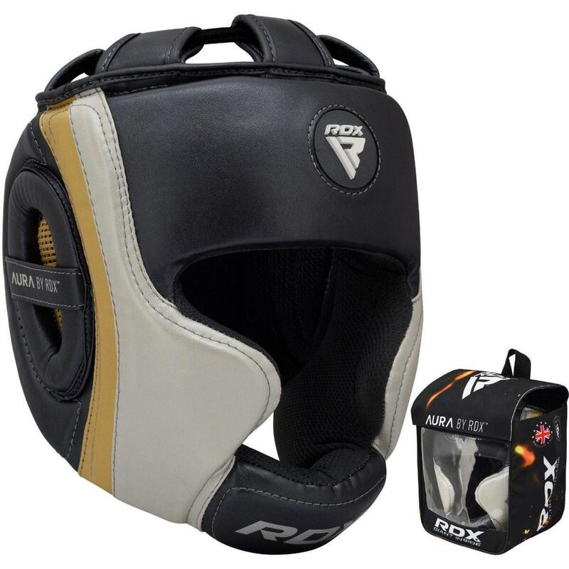 RDX Sports T17 Aura Casque de Boxe | Head Guard - Medium